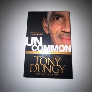 Hard cover book uncommon by Tony Dundy